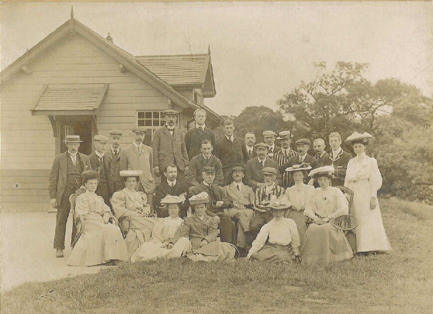 Rawdon Golf Club in 1906